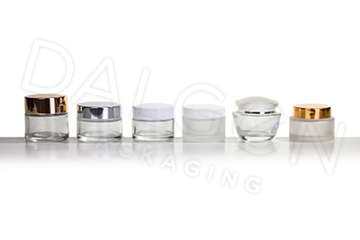 COSMETIC GLASS JARS