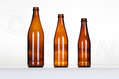 GLASS CRAFT BEER BOTTLES