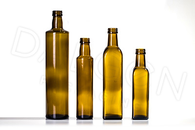 GLASS SAUCE BOTTLES