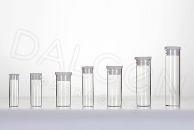 DALGEN GLASS VIALS