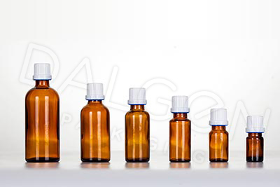 GLASS HOMEOPATHIC BOTTLES