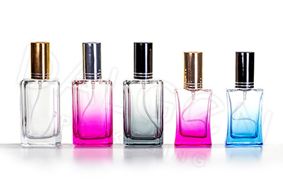 STAINED GLASS PERFUME BOTTLES