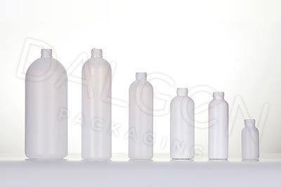 PLASTIC BOSTON BOTTLES HDPE