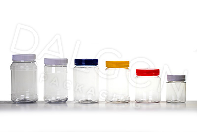 PLASTIC PET JARS and CLOSURES
